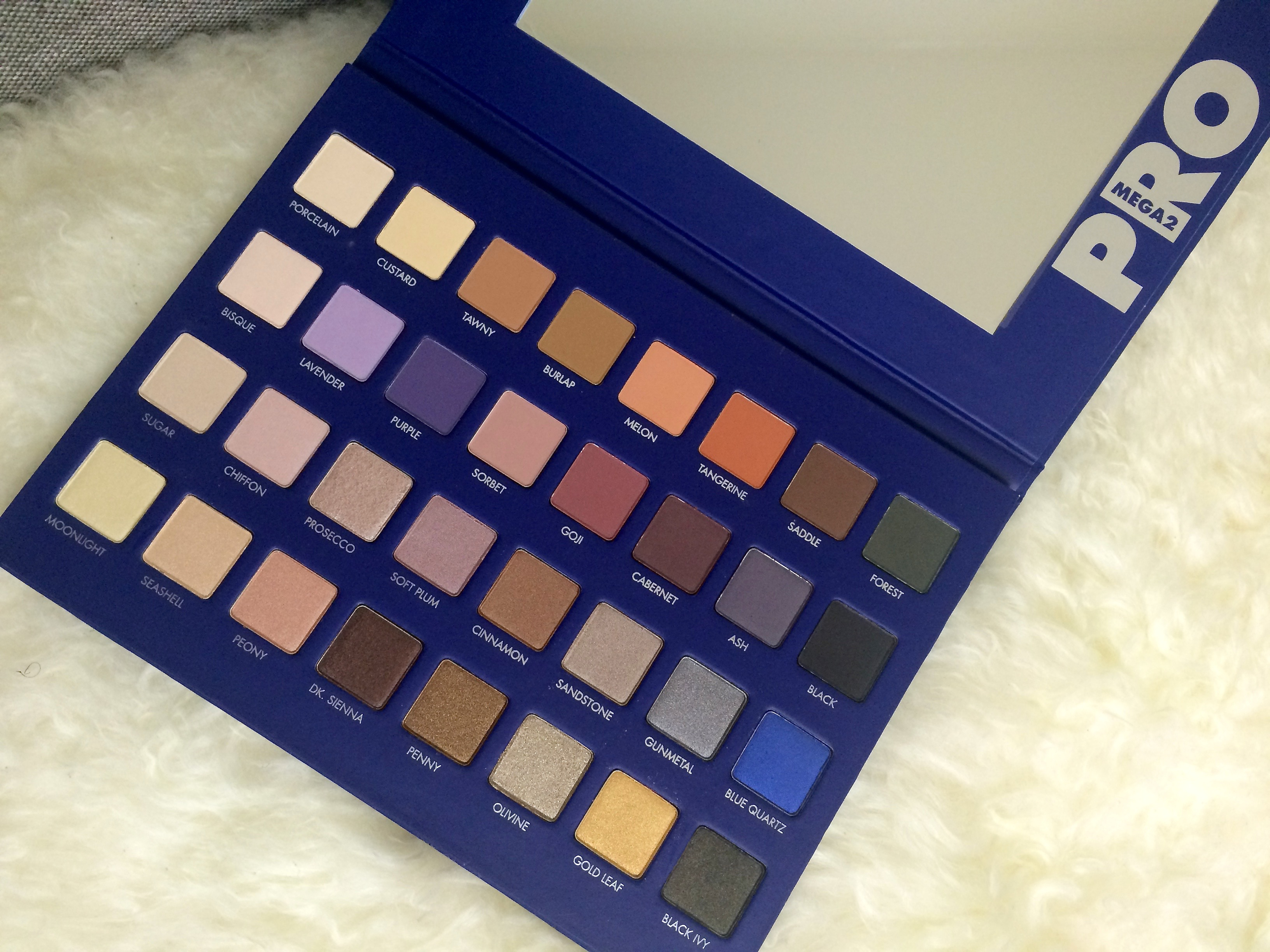 exciting new release lorac mega pro 2 palette juphra